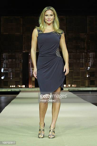 Top model Bar Refaeli walks down the catwalk at the Liverpool Fashion Fest Autumn/Winter 2010 runway at Liverpool Polanco on August 27 2010 in Mexico...