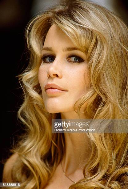 Top Model Claudia Schiffer