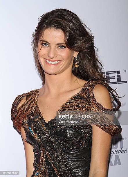 Top model Isabeli Fontana attends a press conference and photocall during the Yucatan Moda Nextel 2011 at Hotel Fiesta Americana on March 19 2011 in...