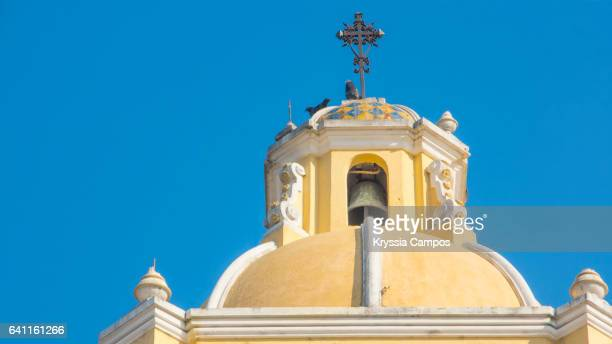 Top of Arco de Santa Catalina (Santa Catalina Arch) in Antigua Guatemala