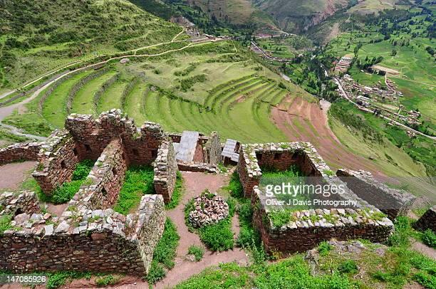 Top of 'Q'allaqasa' Inca fortress