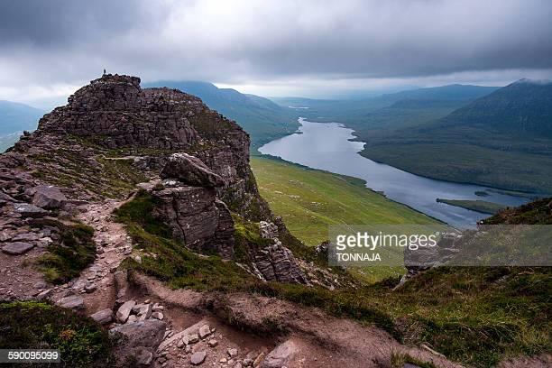 Top of Stac Pollaidh, Highland