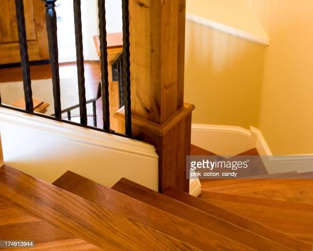 Haut des escaliers