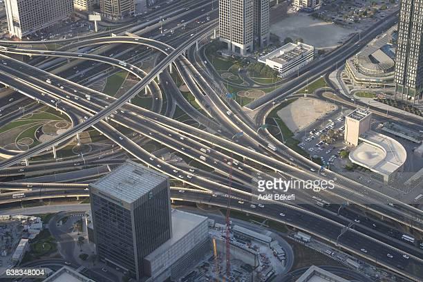 Top of the Burj Kalifa in Dubai, UAE