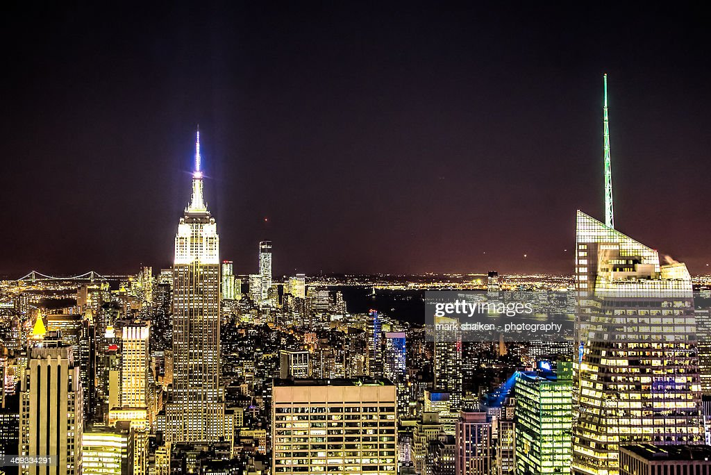 Top of the Rock : Stock Photo