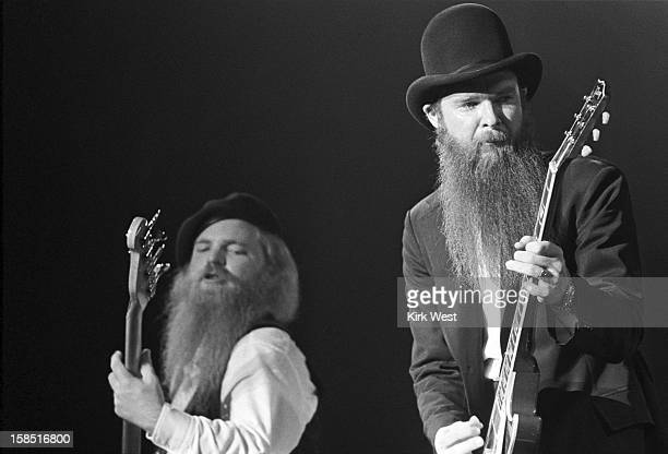 ZZ Top performs at the Aragon Ballroom Chicago Illinois March 16 1980