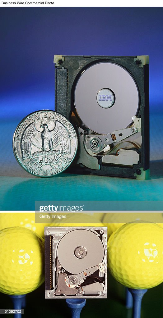 Top Photo Packing One Gigabyte Of Storage Capacity Onto A Disk The Size Of An American Quarter Ibm's Newest Microdrive Can Hold Up To 1000...