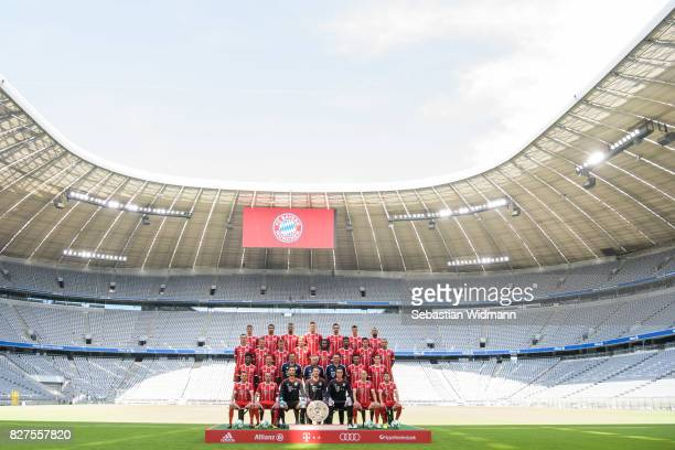 Top row Thomas Mueller Javier Martinez Jerome Boateng Niklas Suele Mats Hummels Robert Lewandowski Arturo Vidal Second row from top Marco Friedl...