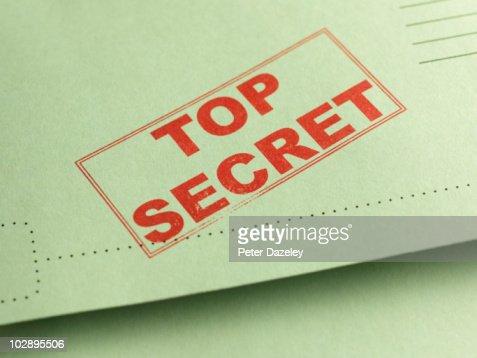 Top secret folder file