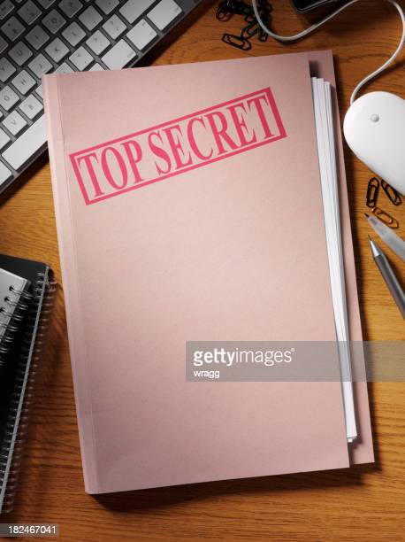 Document Top Secret Office