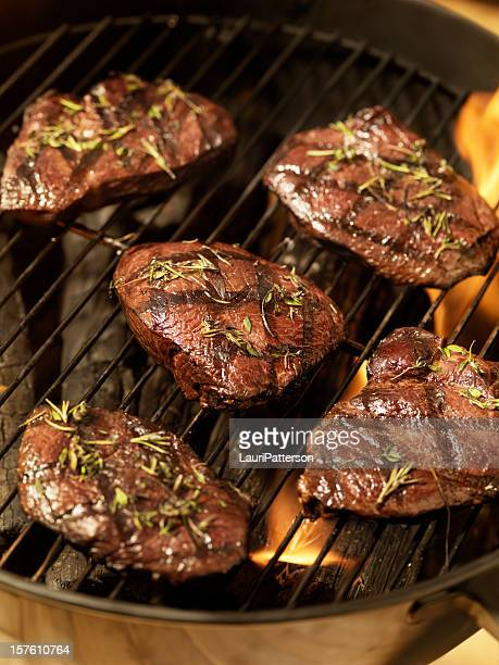 Top Sirloin Steaks with Fresh Herbs