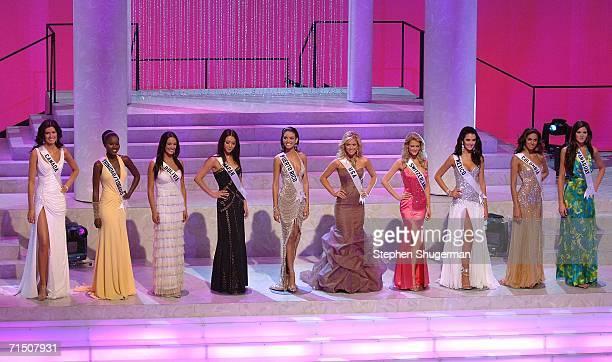 Top ten finalists Miss Canada Alice PanikiaMiss Trinidad Kenisha Thom Miss Bolivia Desiree Duran Miss Japan Kurara Chibana Miss Puerto Rico Zuleyka...