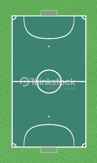 Vista superior de campo de futsal   Foto de stock e3fe282617e18