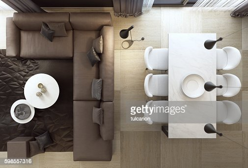 Top View Of Luxury Style Living Room Interior With Sofa  : top view of luxury style living room interior with sofa picture id598557316s170667a from www.gettyimages.com size 505 x 343 jpeg 112kB