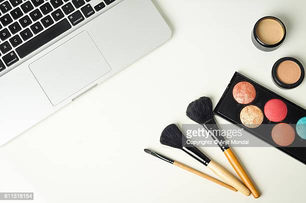 Makeup desk with
