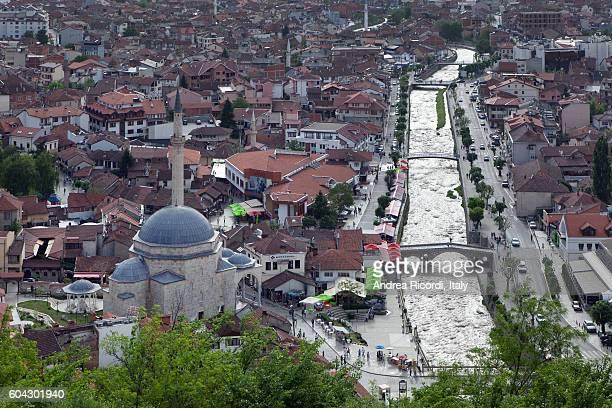 Top view of Prizren, Kosovo