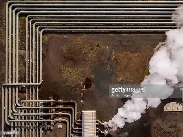 Top view-Hellisheidi Geothermal Plant, Iceland