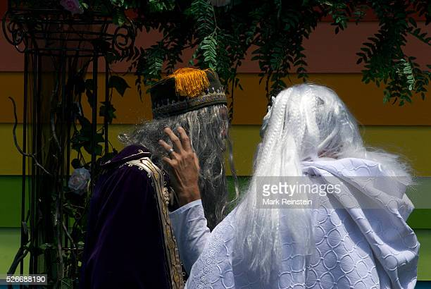 Topeka Kansas 672015 Gandalf The White and Albus Dumbledore got married today at the 'Rainbow House' in Topeka Kansas Gandalf played by Daryl Hendrix...