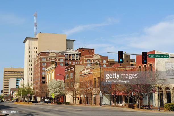 Topeka, Kansas, downtown view