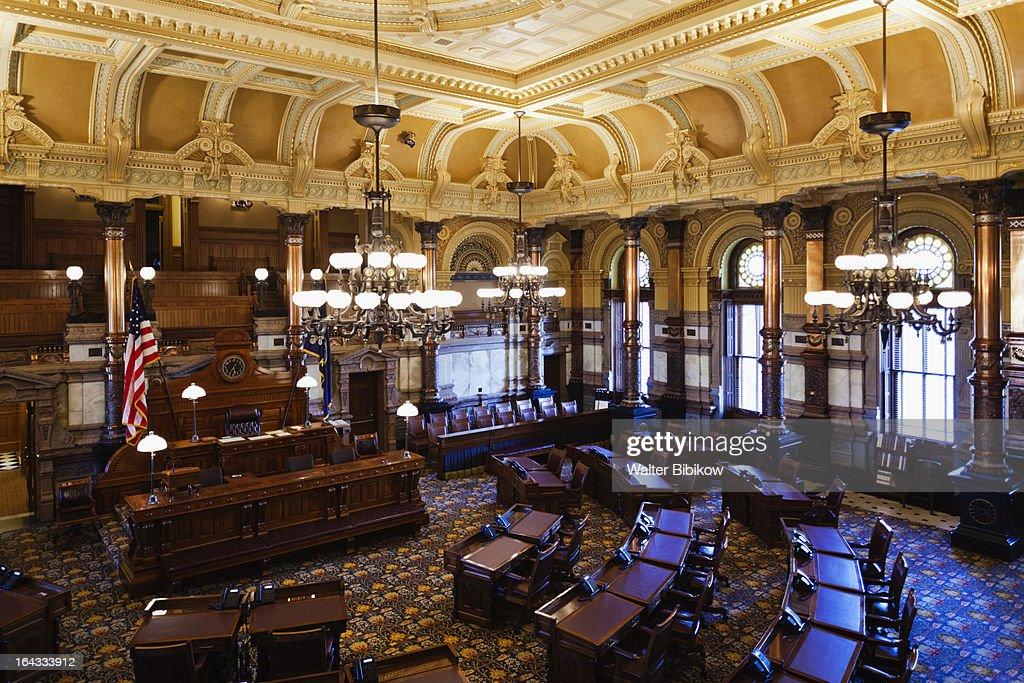 Topeka, Kansas, Interior View : Stock Photo