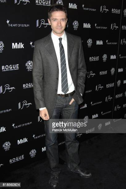 Topher Grace attends THE ART OF ELYSIUM SECOND ANNUAL GENESIS EVENT SPONSORED BY ROGUE PICTURES PAIGE DENIM COFFEE BEAN TEA LEAF AND MILK STUDIOS at...