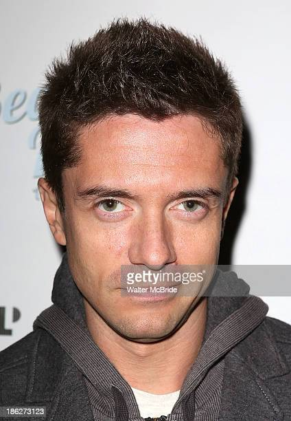 Topher Grace attends the Off Broadway opening night Performance of 'Becoming Dr Ruth' at The Westside Theatre on October 29 2013 in New York City