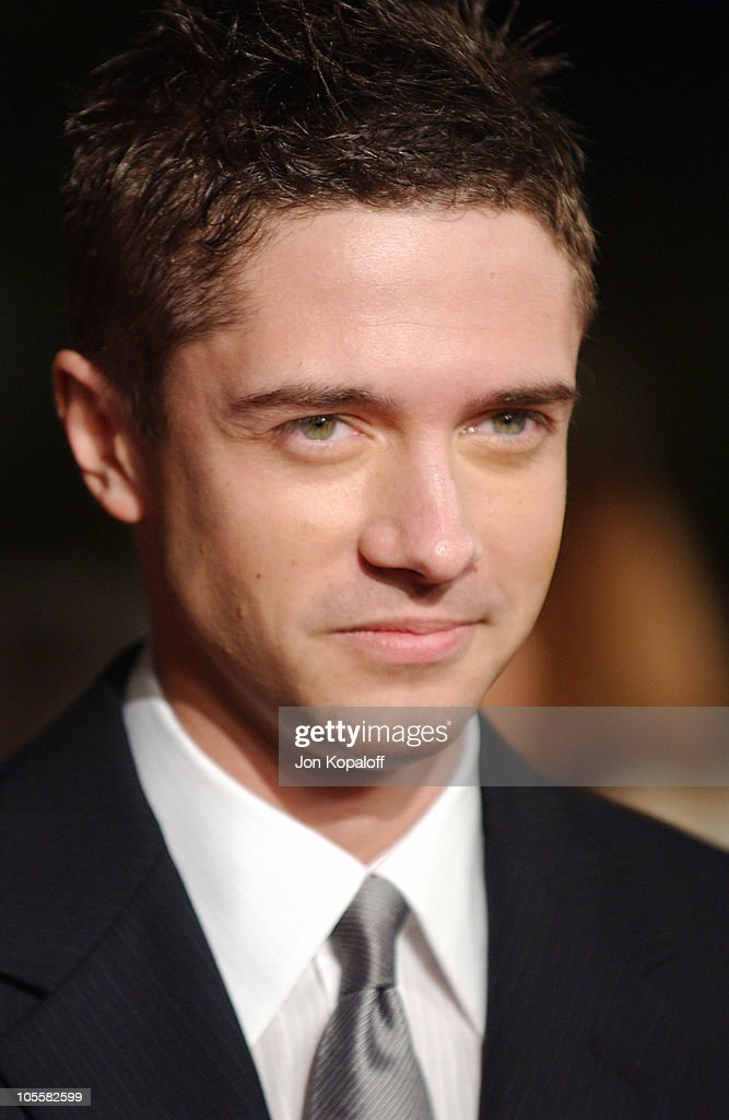 <a gi-track='captionPersonalityLinkClicked' href=/galleries/search?phrase=Topher+Grace&family=editorial&specificpeople=203130 ng-click='$event.stopPropagation()'>Topher Grace</a> during 'In Good Company' World Premiere - Arrivals at Grauman's Chinese Theater in Hollywood, California, United States.