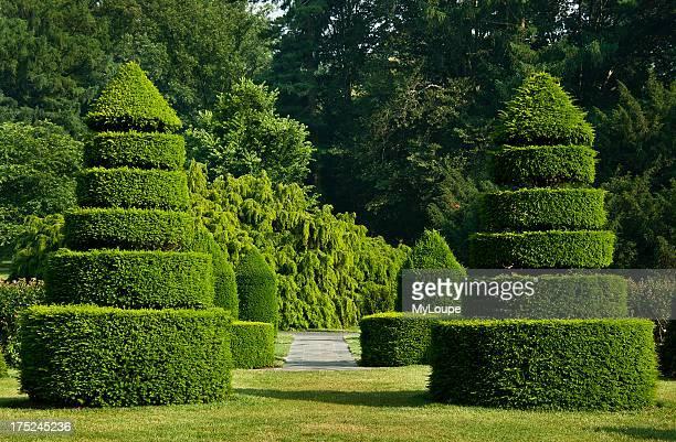 Topiary Garden Longwood Gardens Kennet Square Pennsylvania