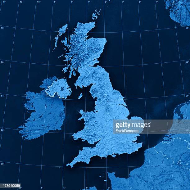 UK Topographic Karte