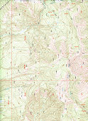 A topographical map background. Extra Large size with great details