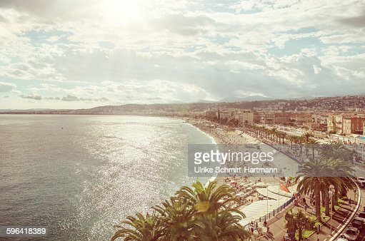 Topview on Nice, France