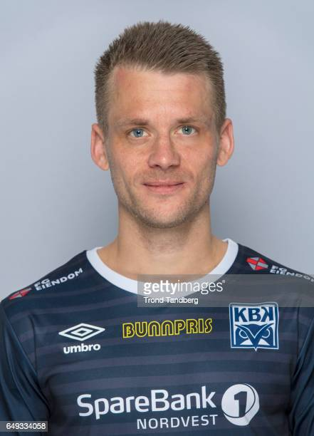 Tor Erik Torske of Team Kristiansund BK on March 7 2017 in Kristiansund Norway