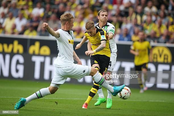 Tor von Marco Reus zum10 Marvin Schulz und Tony Jantschke Borussia Mönchengladbach Moenchengladbach Borussia Dortmund BVB Borussia Mönchengladbach...