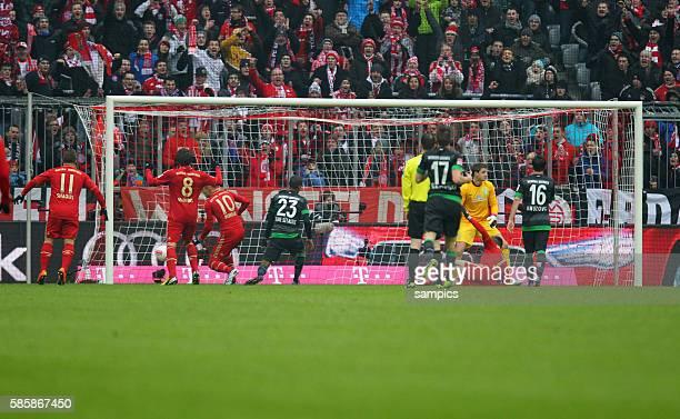 0 durch Arjen Robben 1 FußballBundesliga FC Bayern München vs Werder Bremen