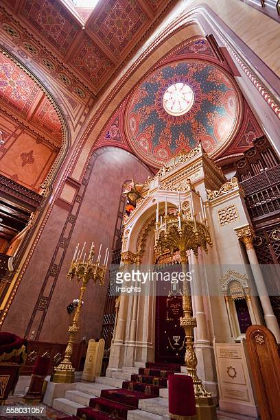 Torah Ark Of The Great Synagogue On Dohany Street Budapest Hungary