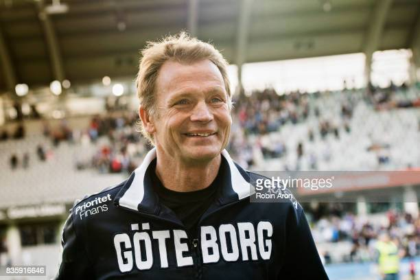 Torbjorn Nilsson assistant coach of IFK Goteborg after the Allsvenskan match between IFK Goteborg and BK Hacken at Gamla Ullevi on August 20 2017 in...