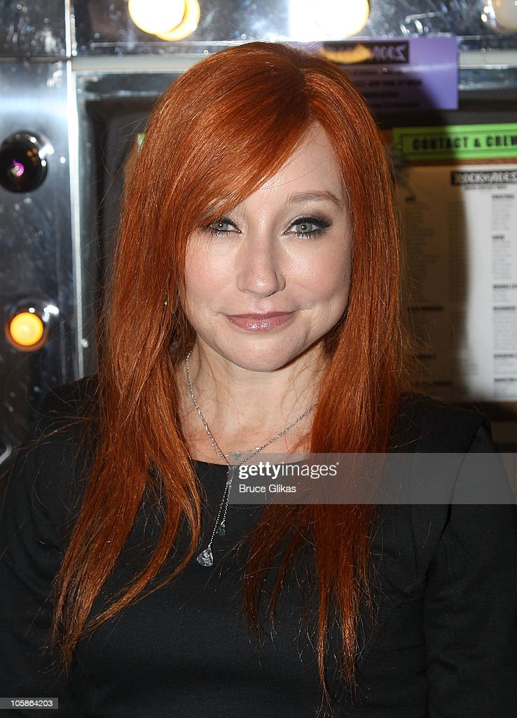 """Tori Amos Visits """"Rock Of Ages"""" On Broadway - October 20, 2010"""