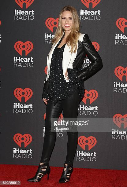 Tori Anderson attends the 2016 iHeartRadio Music Festival at TMobile Arena on September 24 2016 in Las Vegas Nevada
