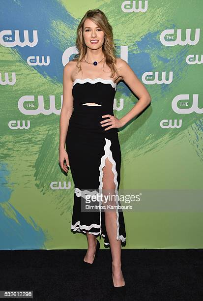 Tori Anderson attends the CW Network's 2016 New York Upfront Presentation at The London Hotel on May 19 2016 in New York City