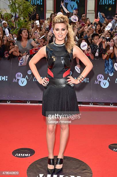 Tori Kelly arrives at the 2015 MuchMusic Video Awards at MuchMusic HQ on June 21 2015 in Toronto Canada