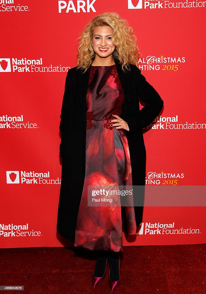Tori Kelly attends the 93rd Annual National Christmas Tree Lighting at The Ellipse on December 3, 2015 in Washington, DC.