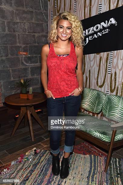 Tori Kelly attends the ARIZONA JEAN CO event in Brooklyn at 26 Bridge on August 20 2014 in Brooklyn New York