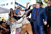 Sir Lucian Grainge Honored With A Star On The Hollywood...