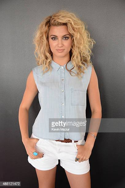 Tori Kelly poses backstage during Billboard Hot 100 Festival Day 2 at Nikon at Jones Beach Theater on August 23 2015 in Wantagh New York