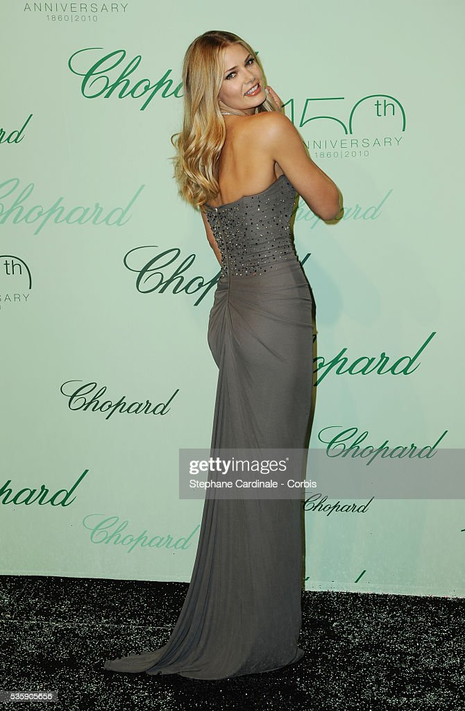 Tori Praver at the 'Chopard 150th Anniversary Party' during the 63rd Cannes International Film Festival.