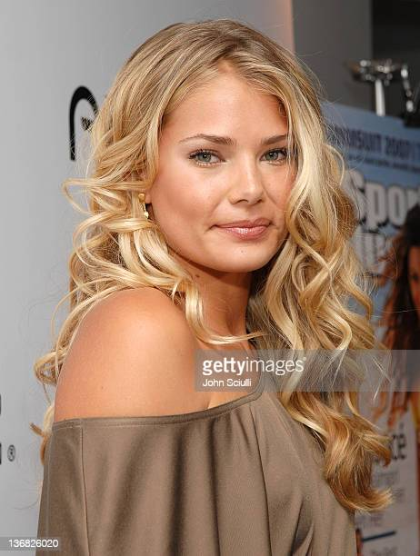 Tori Praver during 2007 Sports Illustrated Swimsuit Issue Red Carpet at Pacific Design Center in Los Angeles California United States