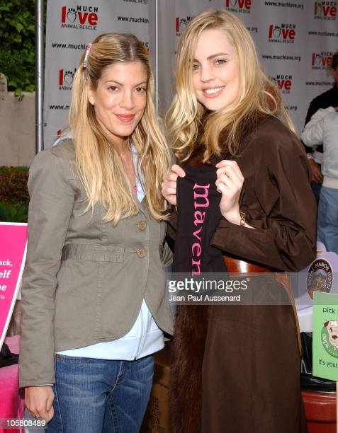 Tori Spelling and Melissa George at Maven during 'Silver Spoon Dog and Baby Buffet' Benefiting Much Love Animal Rescue Day Two at Private Residence...