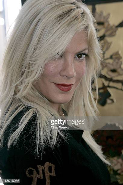 Tori Spelling at Eccentric Symphony during Silver Spoon PreEmmy Hollywood Buffet Day 2 in Los Angeles California United States Photo by Chris...