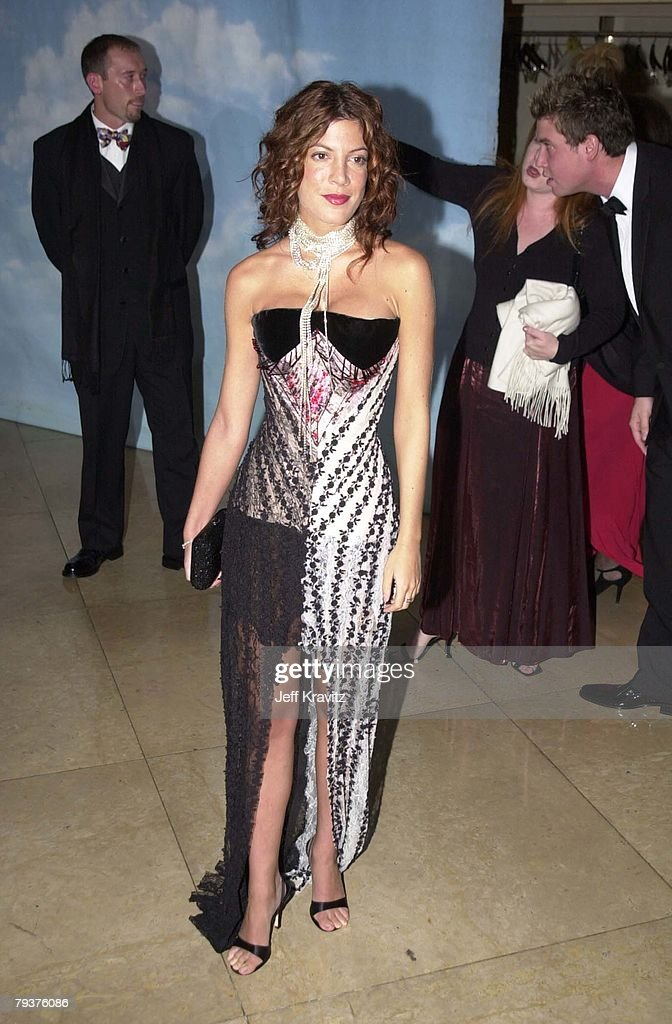 Tori Spelling at the Carousel Ball in Beverly Hills on 10/28/00. 310 45 6988