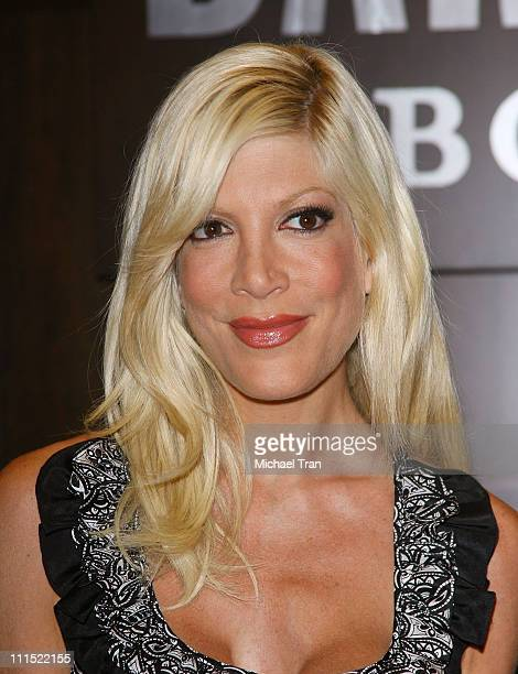 Tori Spelling attends her book signing of 'Mommywood' at Barnes Noble The Grove on April 20 2009 in Los Angeles California